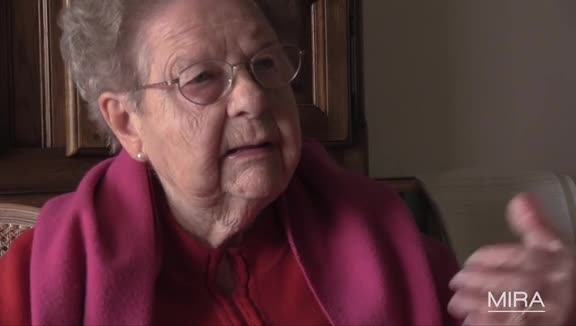 Témoins : Denise Schwartz à l'école nazie à Cernay